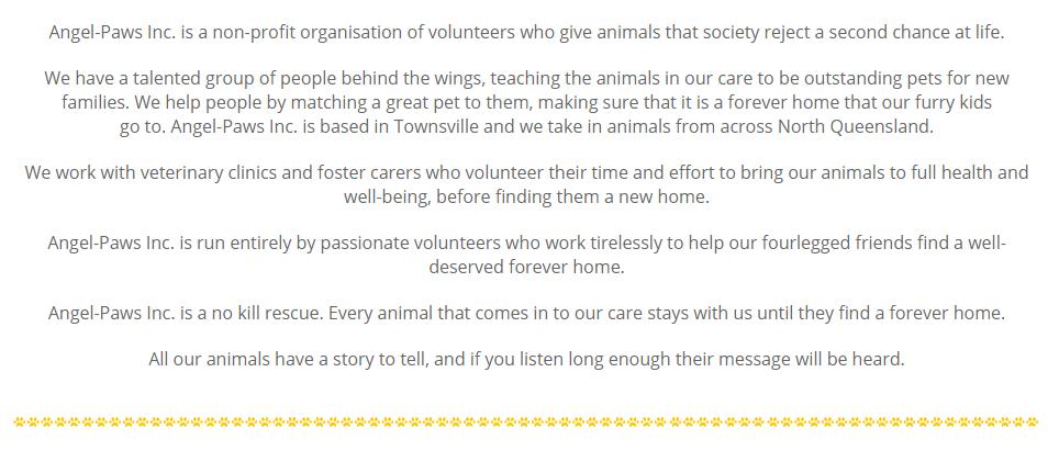 Charity Description